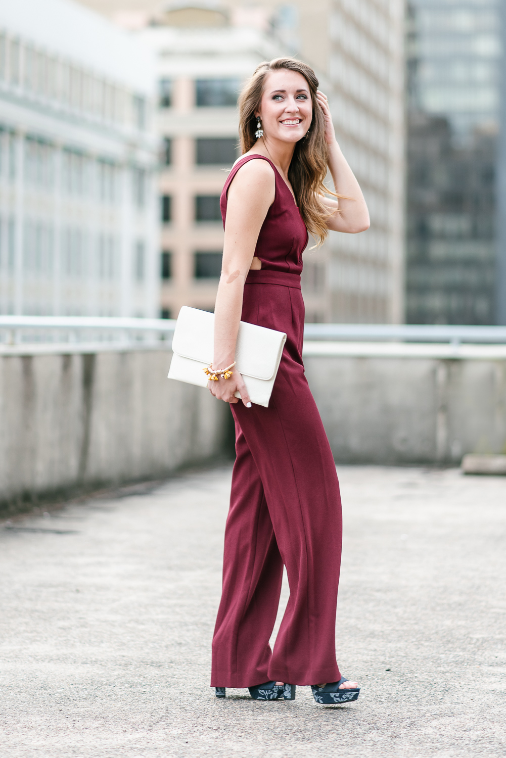 Fall Wedding Guest Jumpsuit It S All Chic To Me